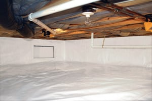 Crawl Space Repair After in Wilmington