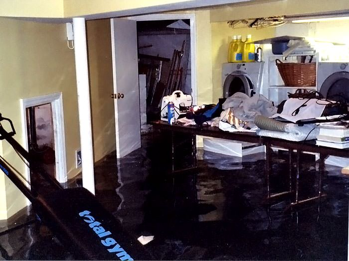 Basements Flooding From Plumbing Failures In Fayetteville
