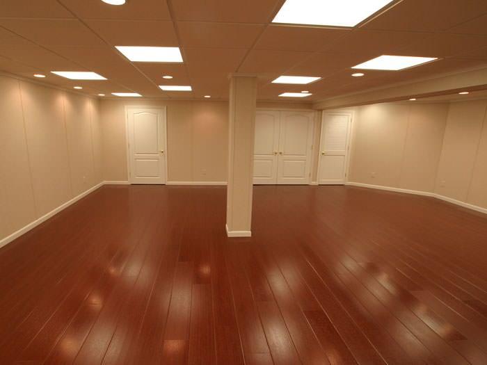 Wood Laminate Basement Floor Finishing, Laminate Flooring For Basement